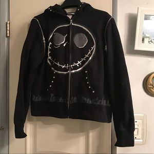 Disneyland NBC hoodie with detachable sleeves